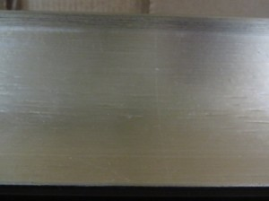 Custom Silver Scoop 4 in at top, 2500ft $1.60 ft NOW .99 SF
